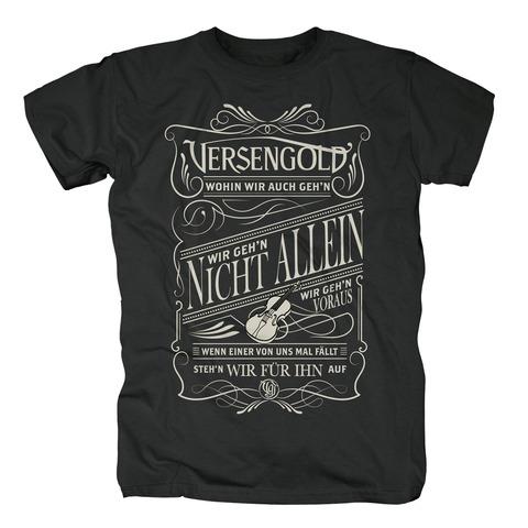 Wohin wir auch geh'n von Versengold - T-Shirt jetzt im Versengold Shop