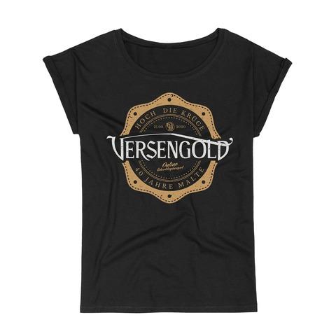 Online Geburtstagskonzert von Versengold - Loose Fit Girlie Shirt jetzt im Versengold Shop