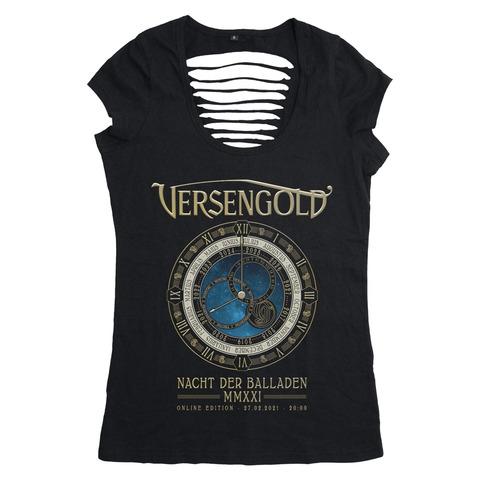 Nacht der Balladen 2021 von Versengold - Girlie Shirt jetzt im Versengold Shop