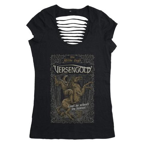 Die wilde Jagd von Versengold - Girlie Shirt jetzt im Versengold Store